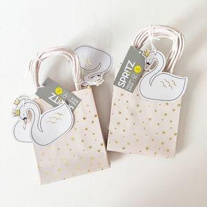 Spritz Swan Princess Theme Treat Bags Qty 12